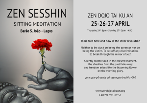 April Zen Retreat